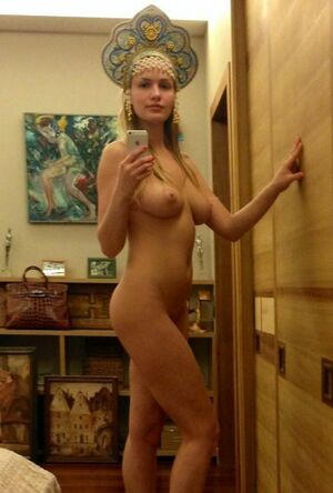 young blond nude