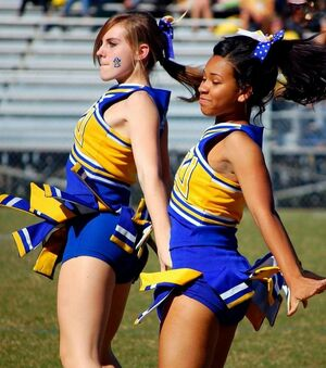 upskirt cheerleaders