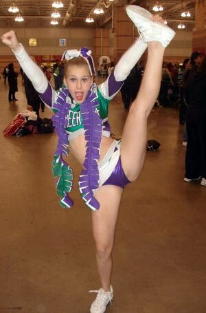 cheerleader upskirts